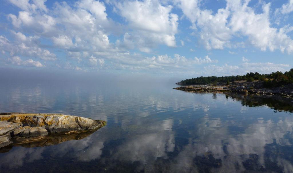 スウェーデン風景島